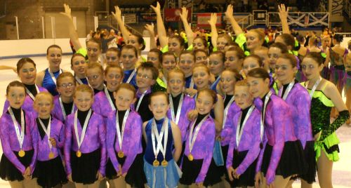 IW synchro teams at Sk8Scotland