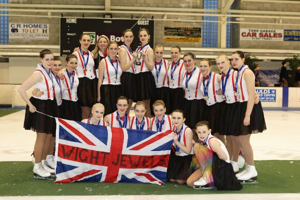 Wight Jewels, Trophy D'Ecosse junior gold medallists. Photo copyright David Paterson www.eventfotos.co.uk