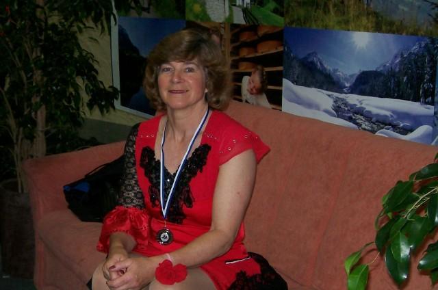Team GB competitor Carol Taverner