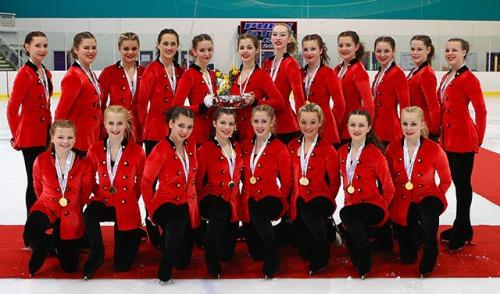 Happy days with British junior champions Wight Jewels