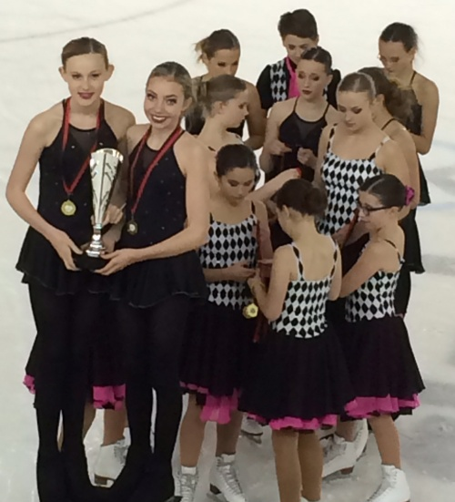 Basic Novice A gold medallists Wight Crystals
